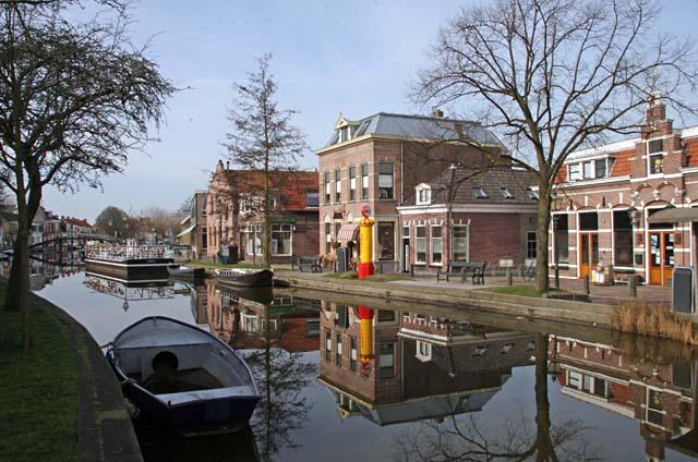 Afsluiting kruising Westlander met Dorpsstraat